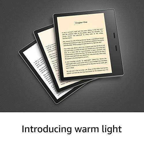 Kindle Oasis | Now with adjustable warm light | Waterproof, 8 GB, Wi-Fi | Graphite + Kindle Unlimited (auto-renewal applies)