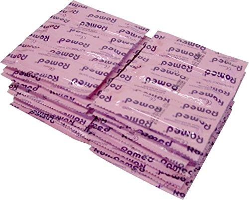 Kondome mit Gleitsubstanz und Reservoir aus Natur Latex Naturfarben von Romed (144)