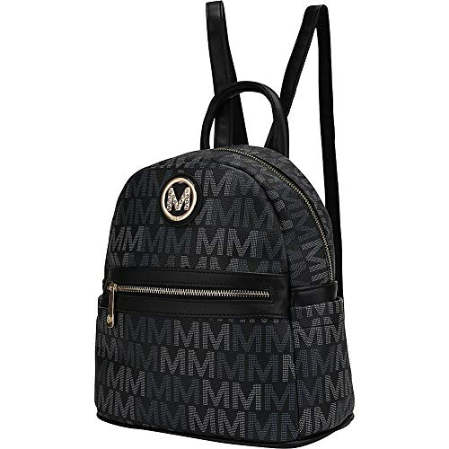 MKF Collection by Mia K. Farrow Kennie Signature Backpack (Black)
