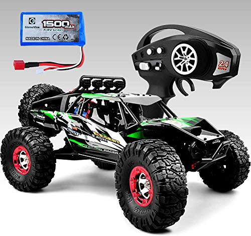 Gizmovine RC Cars 4WD Remote Control Truck 60+KM/H High Speed Brushless Motor Driven,2.4Ghz All Terrain Hobby Truck with 1 Batteries for Boys Kids and Adults