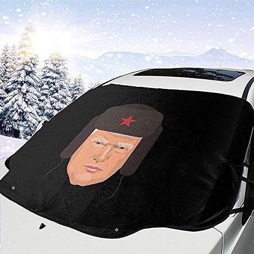 MaMartha Car Windshield Snow Cover Donald Trump Sombrero