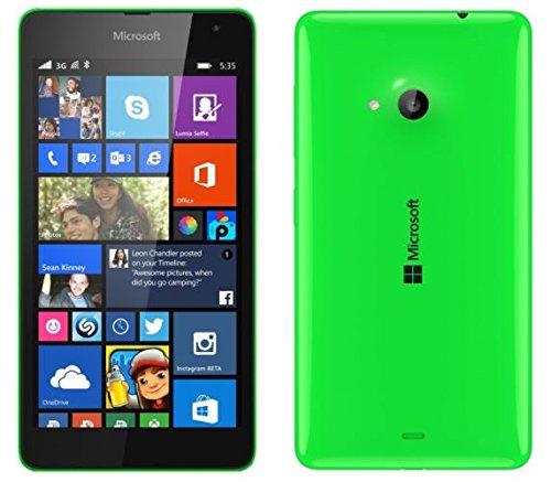 KGC_DOO 1 x Pellicola Protettiva Schermo LCD Display Per Nokia Microsoft Lumia 535 - Pellicole Antigraffio Proteggi Schermo Lucida - Clear Lucida Salva Display