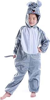 Mlotus Unisex Children Chinchilla Pyjamas Halloween Animal Kids Onesie Costume