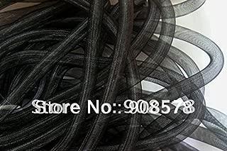 Pukido Black 16mm Tubular CRIN - Large - Diameter Used to Make cyberlox Hair Extensions 60yard