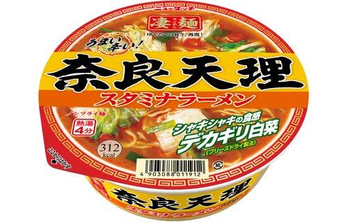 ニュータッチ 凄麺 奈良天理スタミナラーメン 112g×12個