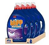 Wipp Express Detergente Líquido Lavanda 30 Lavados - Pack de 4, Total: 120 Lavados