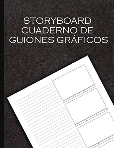 Storyboard - Cuaderno De Guiones Gráficos: Storyboard Notebook para películas y videos