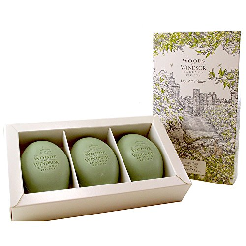 Woods of Windsor Lily Of The Valley Savon 3 x 60 g
