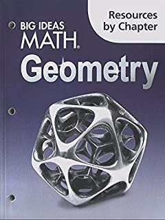 Big Ideas Math Geometry: Resources by Chapter by HOUGHTON MIFFLIN HARCOURT (2014-08-05)