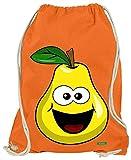 Hariz - Bolsa de deporte con forma de pera y frutas, multicolor, color naranja, tamaño talla única