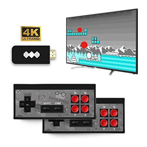 1 x kabellose Classic Feel, Spielekonsole, TV Daten, Videospielekonsole, kabellos, USB, hergestellt in 568 klassischen Spiele mit 8 Bit
