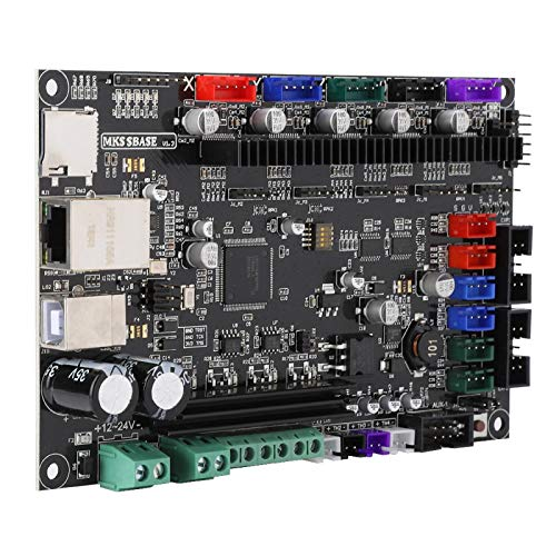 Hyuduo1 3D Printer 32-Bit Motherboard, 4-layer Mainboard using SOP package,12V-24V MKS SBASE V1.3 Open Source Firmware Accessory,For CNC/3D printer/engraving machine