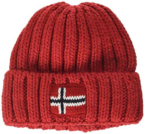 Napapijri Jungen K SEMIURY 3 Mütze, Rot (HIGH Risk RED RA3), (Herstellergröße:20)