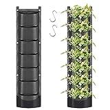 June Fox Vertical Garden Wall Planter with 7 Pockets, New Upgrade...