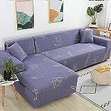 JRKJ Cubre Sofá,Sofa Cover Slipcover Sofa For SofaTowel Solid Covers Sofa Color Living Room Furniture Protective Armchair Couches Sofa 1/2/3/4-3_45Cm Pillowcases 2 Pc
