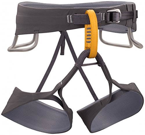 Black Diamond Solution Climbing Harness - Men's Black/Slate Large