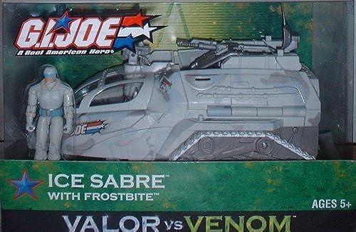 2003 Gi Joe Ice Sabre with Frostbite by G. I. Joe