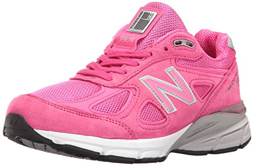 New Balance Women's w990v4 Running Shoes, Komen Pink, 5 B US