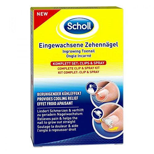 SCHOLL uñas encarnadas (Clips & Spray 1St