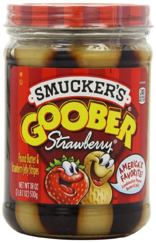 Smuckers Goober Peanut Butter & Jelly Stripes
