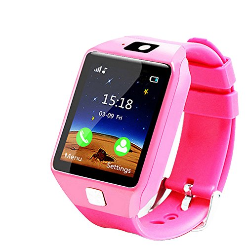 Kacowpper Christmas Best Gift for Kids EU9 Loss Prevention Information Reminds Notice Remote Camera Kid Smart Watch The Safest Guarantee for Your Kids (Best Mobile Tracker App In India)