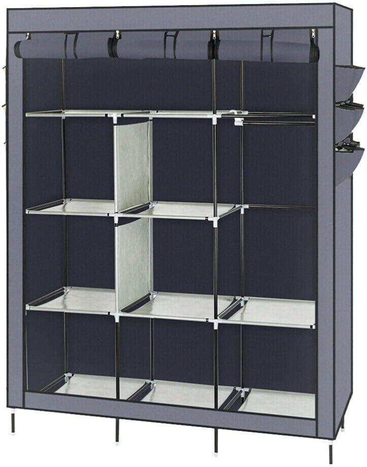 UPN Closet Max 54% OFF Storage Superior Organizer Wardrobe with Clothes Shelves Rack
