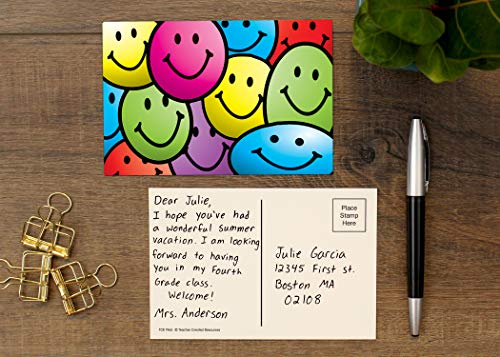 Teacher Created Resources Smiley Faces Postcards (1965) Photo #5