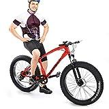 Mountain Bikes - 21 Speed Anti-Slip Folding Bike 26 inch Carbon Steel...