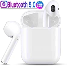 Bluetooth Wireless Earbuds, Wireless Bluetooth Headphones ,【Smart Touch】3D Stereo Sound in-Ear Headsets Sports Running Headphones Compatible for airpods /Android/iPhone/Airpod