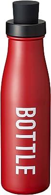 オーエスケー マグボトル レッド 容量:約350ml ランチチャイム ダイレクトステンレスボトル SBK-350W
