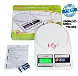 Bulfyss Electronic Kitchen Digital Weighing Scale 10 Kg - (1 Year Warranty)