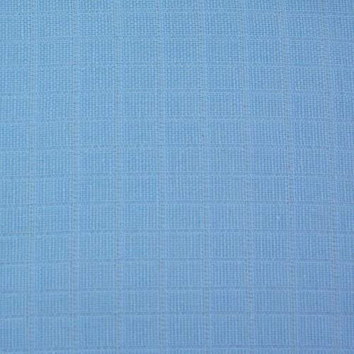 The Planet Store - 12 X Bleu Supersoft Carrés De Coton 100% Mousseline 70 X 70 Cm, Fabriqué En Ue, Référence : 4J-863H-Ht0T