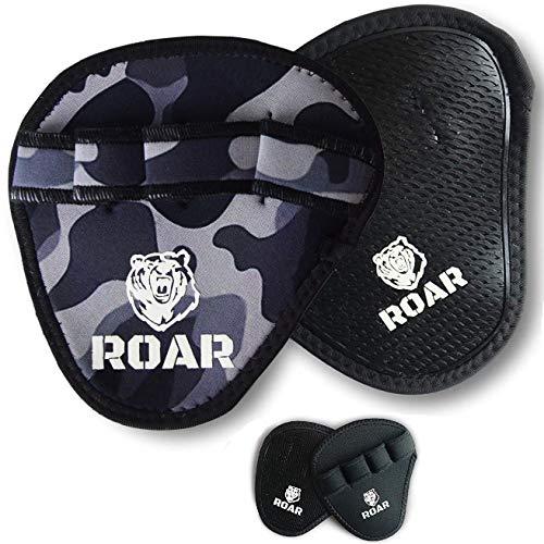 Roar® Guantillas Gimnasio, Grip Pad, Almohadilla Barra Gimnasio, Grip Power Pads, Grip...