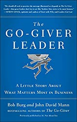 Best Sales Books includes  The Go-Giver Leader: A Little Story About What Matters Most in Business by Bob Burg