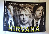 Nirvana Poster-Fahne Poster Flag No. 086 Format 94 x 138 cm Polyester
