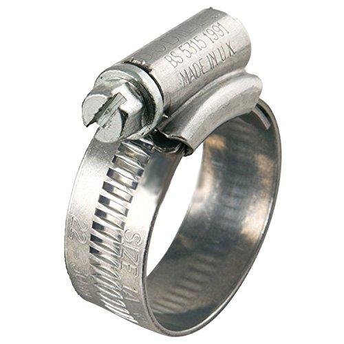 Colliers de serrage Jubilé zingué 35 mm x 50 mm x 5 pièces