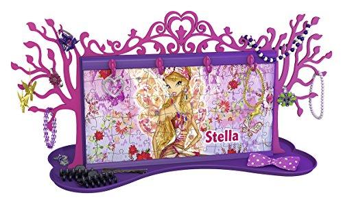 Ravensburger Italy–Puzzle 3D Girly Girl Joyero Winx