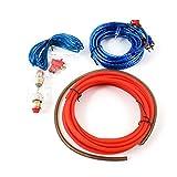 Kit de Câblages Amplificateur de voiture 1500W Autoradio Fil AMP Câblage Fusible Audio du Sonore Câbles RCA