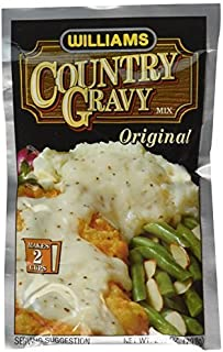 Williams Country Gravy Mix , 2.5 OZ-3 packages