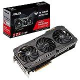 ASUS TUF Gaming AMD Radeon RX 6800 XT OC Edition Graphics Card (PCIe 4.0, 16GB GDDR6, HDMI 2.1, DisplayPort 1.4a, Dual Ball Fan Bearings, All-Aluminum Shroud, Reinforced Frame, GPU Tweak II)