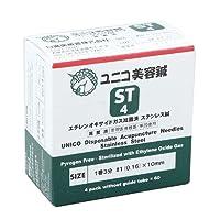 ユニコ ディスポ鍼 美容鍼(鍼管なし) 240本入 (#1番(0.16)3分)