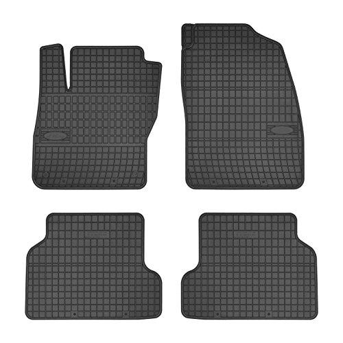 Preisprofessor Gummimatten Autofußmatten Fußmatten exakter Passform 4-teilig FO-0301