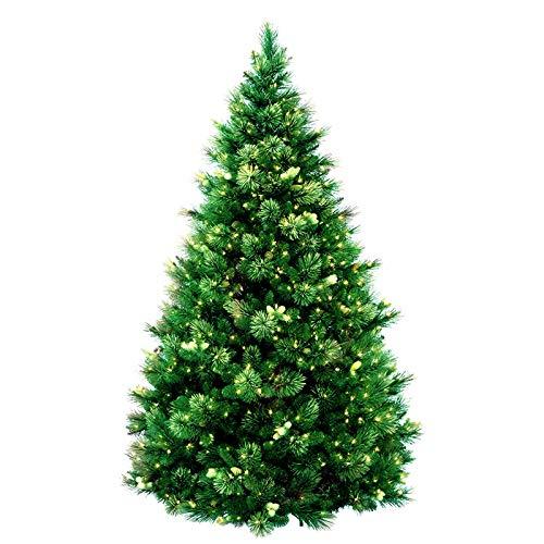 GVBUI Albero di Natale Pino Ago Materiale Natale Albero di Natale Hotel Mall Home Decorations 2,7M