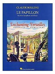 Claude Bolling: Le Papillon. Partitions pour Saxophone Alto, Accompagnement Piano