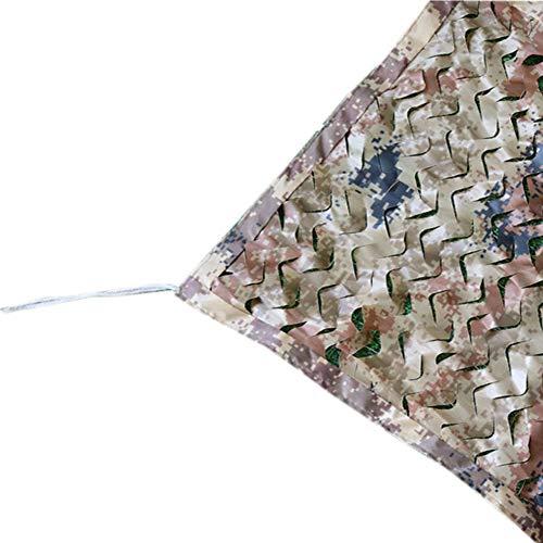 Jacht schieten Camo Netting Camping Verbergen Oxford Stof Anti Muggen Gezicht Bescherming Zonnebrandcrème Netten Camouflage Net Blind Kijken Verbergen