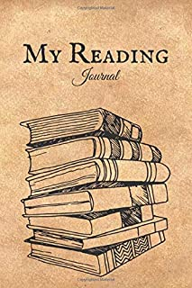 My Reading Journal: Reading Log for Book Lovers, Books I Read Journal, Reading Logbook for Books Record and Review