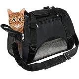 EVELTEK Soft Side Pet Carrier Travel Bag Small Dogs, Medium Sized Cats Rabbits