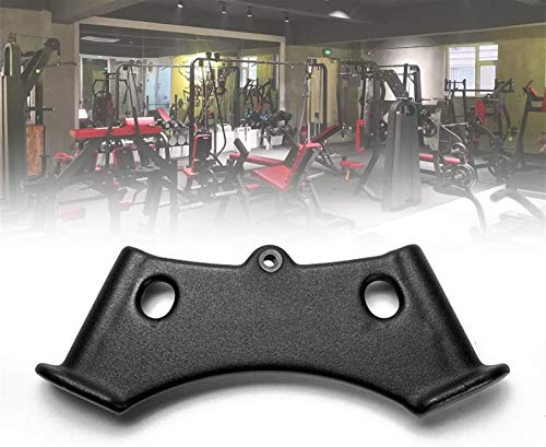 ZPCSAWA V-Shape Lat Machine Pull Down - Juego de accesorios para gimnasio en casa, mango antideslizante para barra de cable de ejercicio, tríceps, equipo de fitness para culturismo