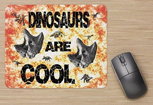 Dinosaurier Fossil Fußabdruck Qualität Design Maus Pad, Mauspad