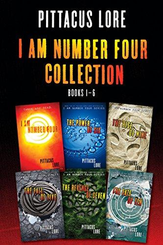 i am number four books set - 8